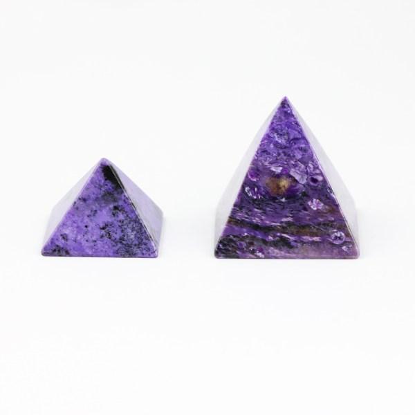 charo1 Charoite, Pyramid, Premium Quality Vesica Institute for Holistic Studies