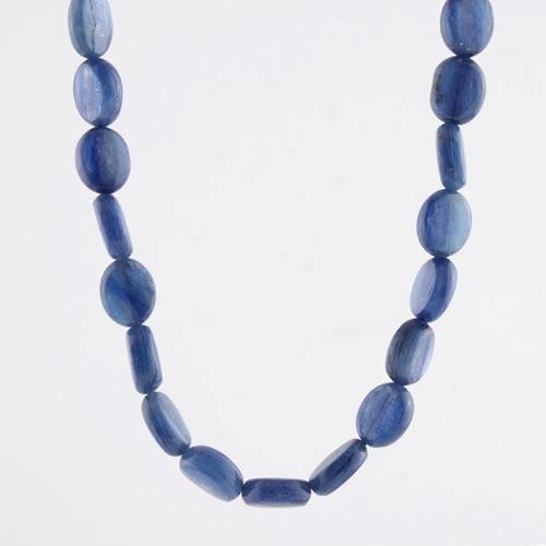 img 5585 b Kyanite, Blue, Flat Bead Strand Vesica Institute for Holistic Studies