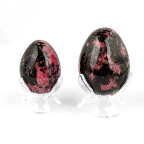 rhodonite egg 3 Rhodonite, Egg Vesica Institute for Holistic Studies