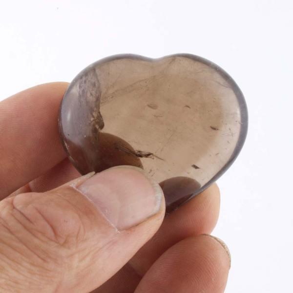 smoky heart b Quartz, Smoky, Hearts, Medium 4-5cm Vesica Institute for Holistic Studies