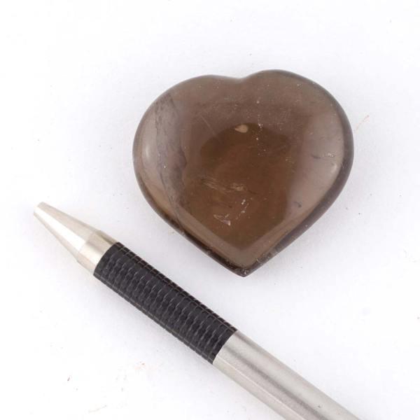 smoky heart c Quartz, Smoky, Hearts, Medium 4-5cm Vesica Institute for Holistic Studies