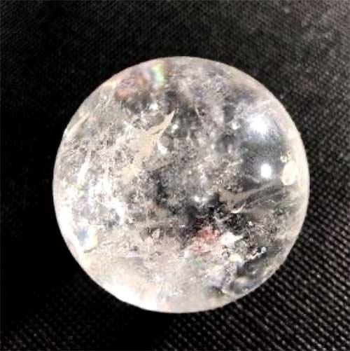 QUARTZ CLEAR sphere p t 500px 1 Quartz, Clear Spheres, Partially Transparent with Inclusions Vesica Institute for Holistic Studies