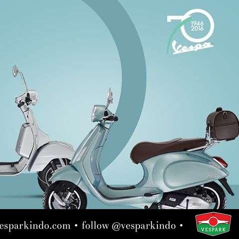 The Vespa Primavera 70th Anniversary Limited Edition