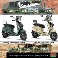 Vespa Sprint Adventure Limited Edition