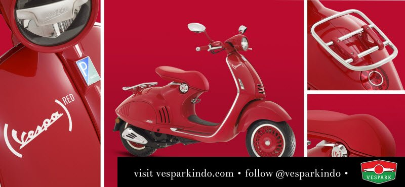 vespa 946 RED limited edition