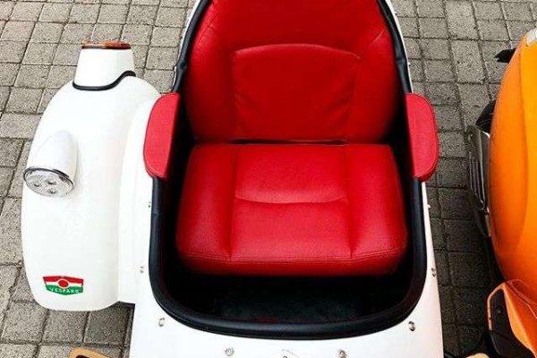 vespa sidecar seat