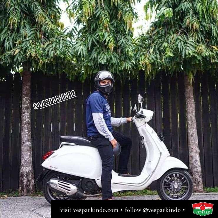 Vespa Sprint dari Vespark ke Aceh @firmandotalagi • • • • • • Bukan mimpimu yang mengecil tapi keberanian dan kemampuanmu yang harus membesar. Ide-ide kreatifmu harus disertai dengan aksi 👍💪 siapp?