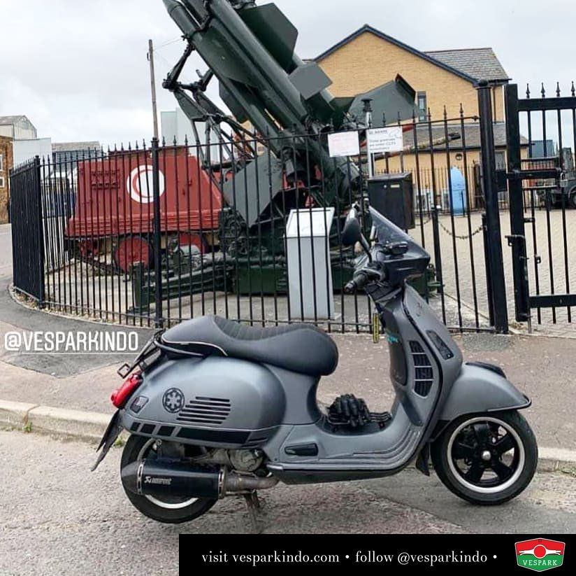 Vespa GTS armour style @gruppovespa300gtsitalia