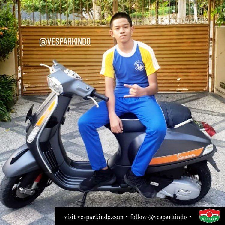 Vespa S matt grey 125cc i-get, Welcome to Vespark Family Syauli Sayuti pengiriman ke pekan baru