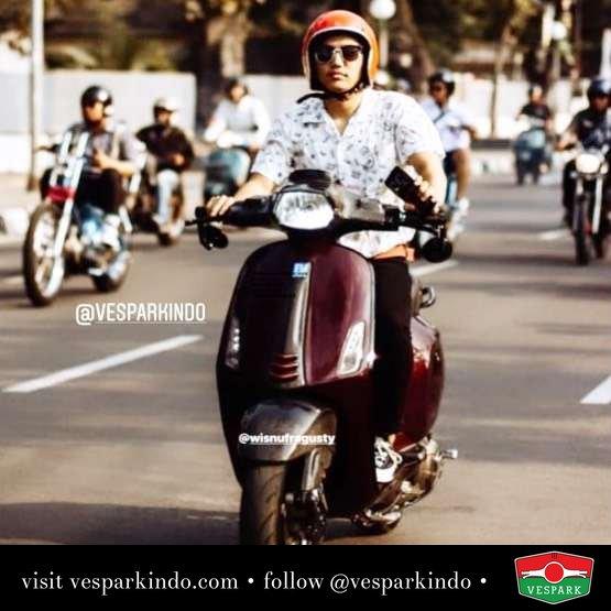 Vespa Sprint riding @al_haafizz
