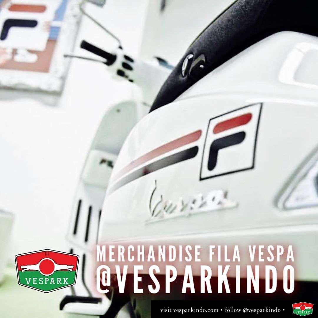 Merchandise FILA x Vespa telah tersedia di Vespark Silakan kunjungi dealer resmi Vespa Medan Vespark . Dapatkan DISKON 10% hanya 1 hari saja! Khusus yang ke sunmori Vespark 23 Feb 2020 Dan juga promo lainnya