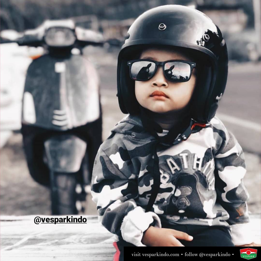 Passion starts young With Vespa Sprint @letskuts