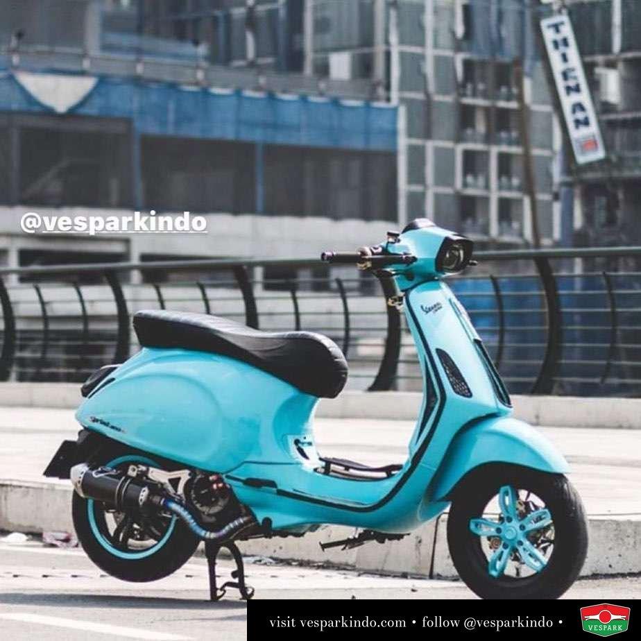 Vespa Sprint modified 300cc @modernvespasaigon
