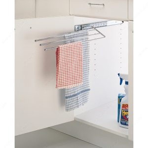 under sink tea towel pullout accessory