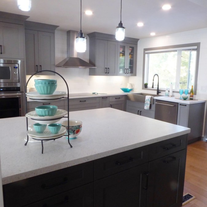 image of completed kitchen renovation