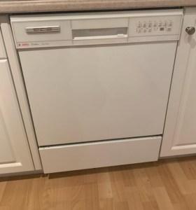 white dishwasher by Asko
