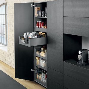 pantry pullout shelves