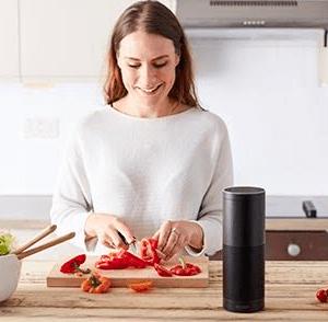 Alexa in kitchen design