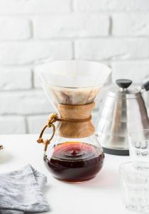 coffee carafe on countertop