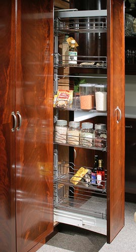 """Pullout pantry 12"""" wide"""