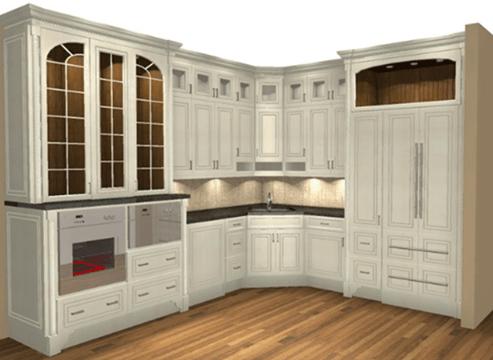 Perspective of Masterpiece Kitchen Perimeter