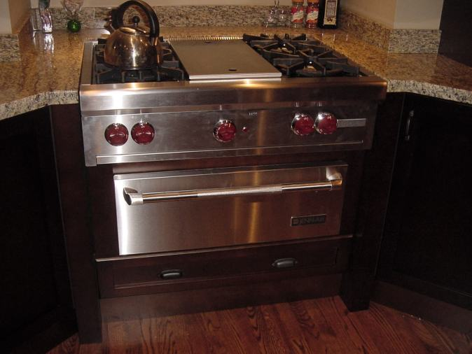 pro cooktop and warming drawer
