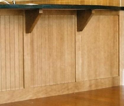 Dining bar brackets angle shaped