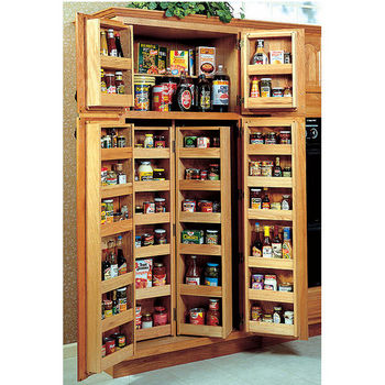 Wood chef's pantry