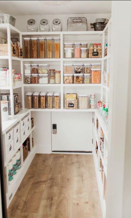 walk in food pantry
