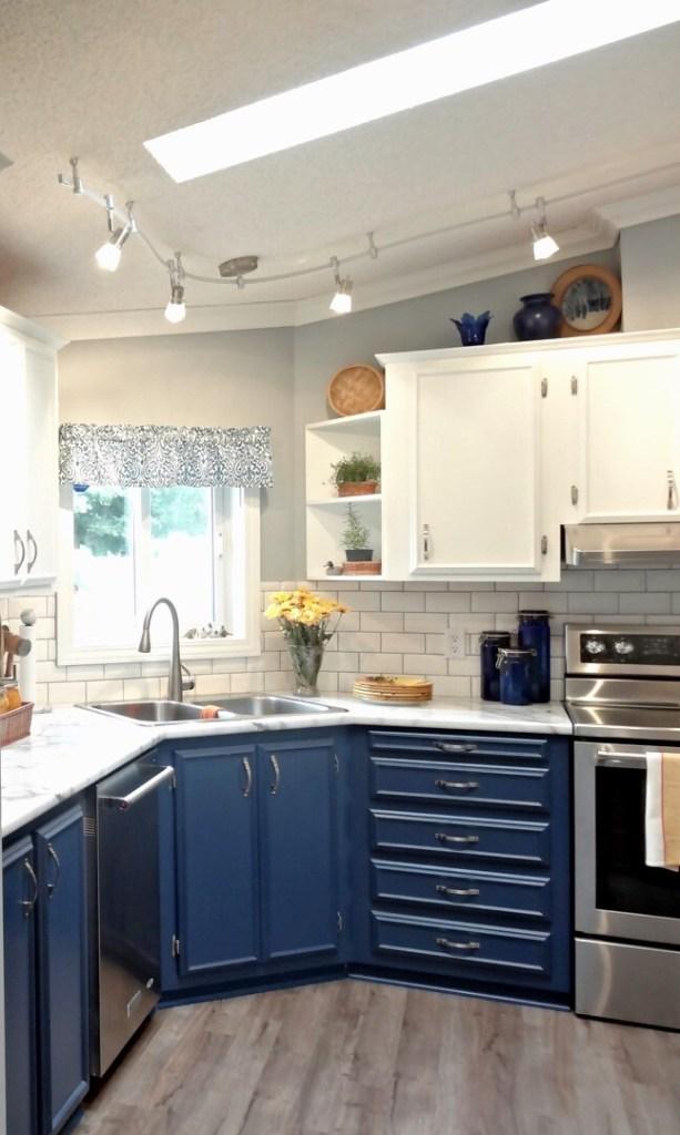 kitchen after facelift