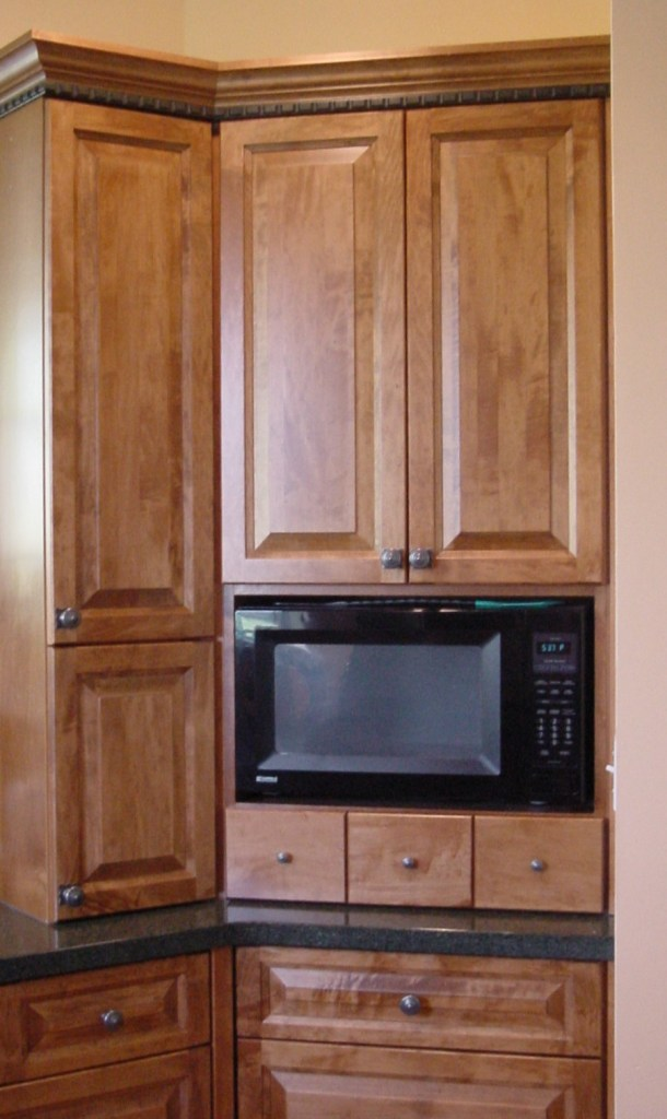 mw in upper to countertop