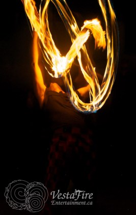 BuzzSaw back bend with poi