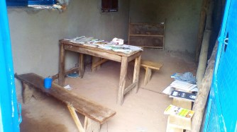 This is a usual classroom setting in Maara. Our solar lights are put to use here to improve education quality.