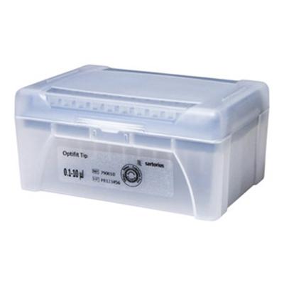 10mkl 790011 - Наконечники 10 мкл для дозаторов Sartorius BIOHIT Optifit, 31.5 мм, стерильные, в штативе 10х96 шт.