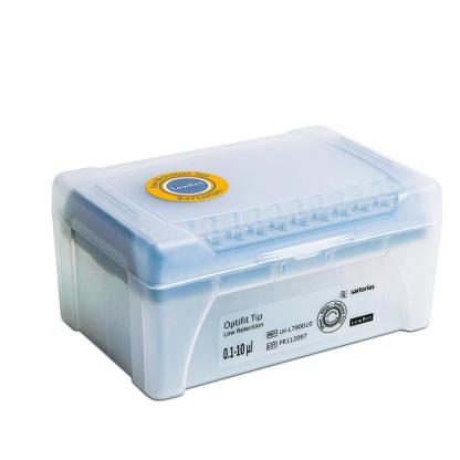 10mkl LH L790010 - Наконечники 10 мкл для дозаторов Sartorius BIOHIT Low Retention Optifit, 31.5 мм, в штативе 10х96 шт.