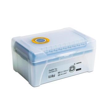 10mkl LH L790010 - Наконечники 10 мкл для дозаторов Sartorius BIOHIT Low Retention Optifit, 31.5 мм, в многослойном штативе 10х96 шт.