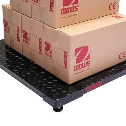 OHAUS 3000DF 1 - Платформенные весы OHAUS DF32M1500BS