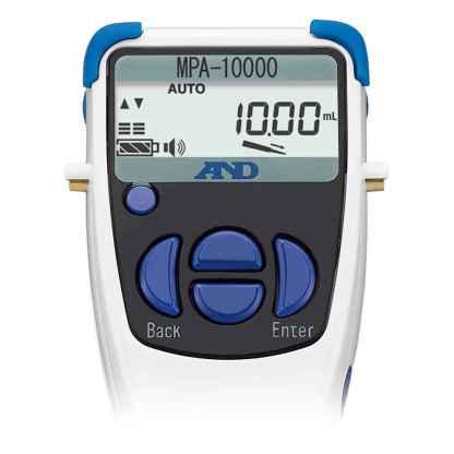 MPA10000 3 - Дозатор электронный 1-канальный AND MPA-10000, 0.1-10 мл