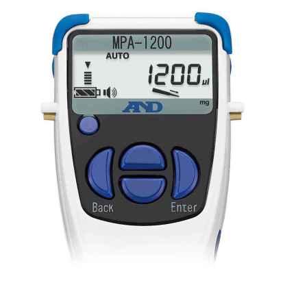 MPA1200 3 - Дозатор электронный 1-канальный AND MPA-1200, 100-1200 мкл