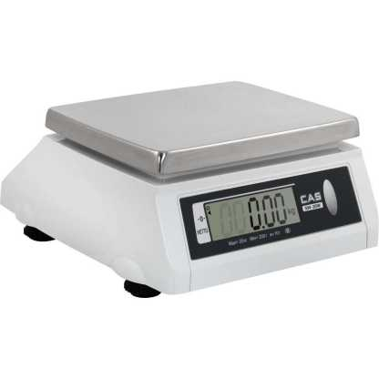 cas sw w dd - Влагозащищённые порционные весы CAS SW-10W(DD)