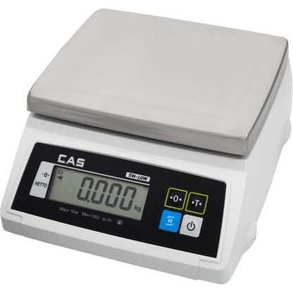 cas sw w - Влагозащищённые порционные весы CAS SW-20W