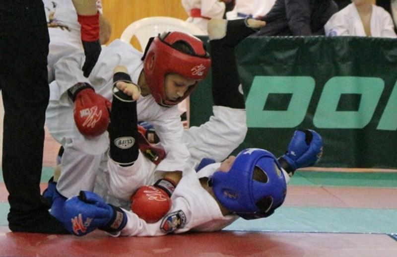 Юные севастопольские рукопашники выступили на турнире в Евпатории