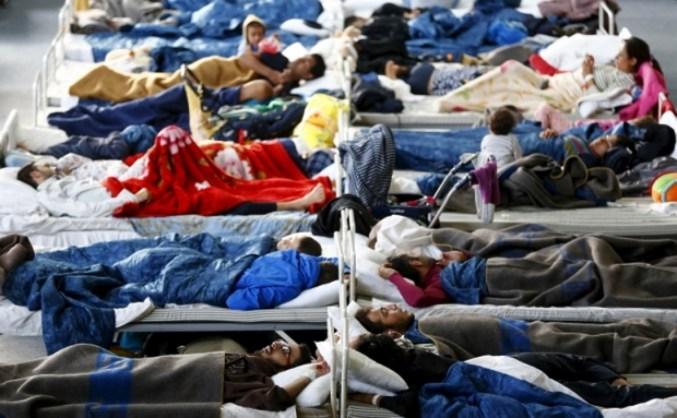 В Германии в лагере для беженцев произошли столкновения между мигрантами