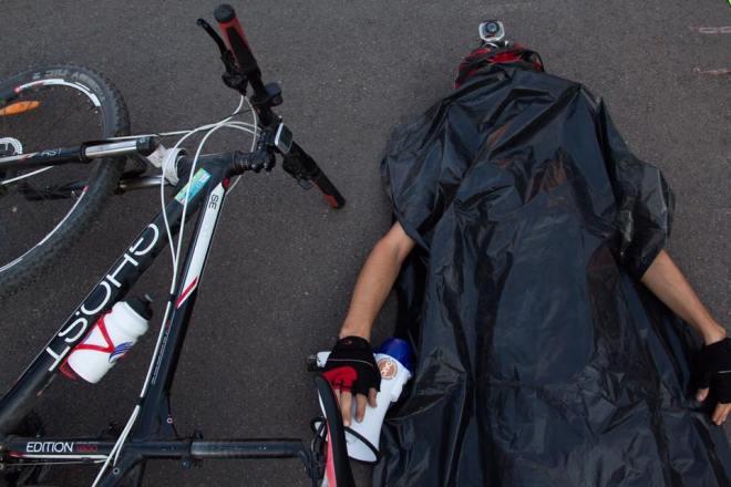 флешмоб велосипедистов