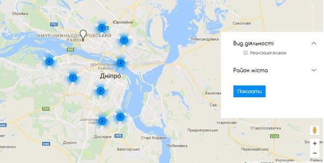 елочные базары_карта