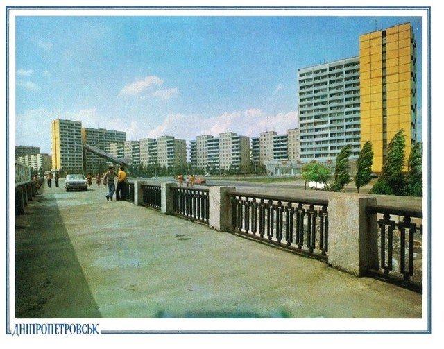 Жилмассив Солнечный. 1982 год