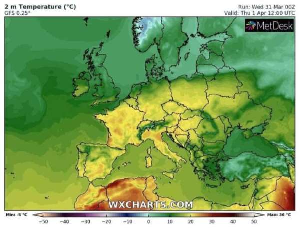 Прогноз погоды на завтра: где будет дождь с грозой   ВЕСТИ