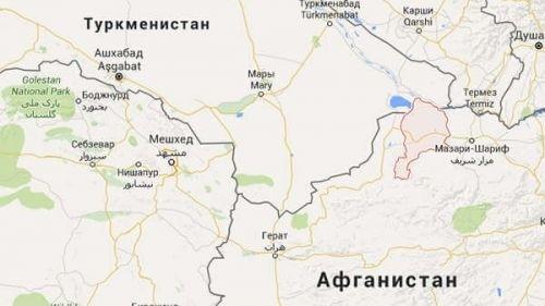 Афганские туркмены бегут от наступающих талибов