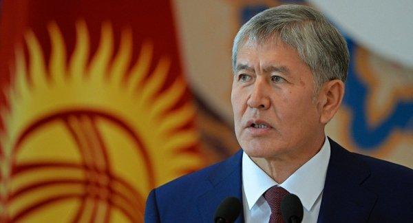Атамбаев призвал узбеков вместе строить дорогу в Китай