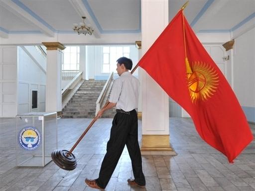 Что возникло на месте Киргизской ССР